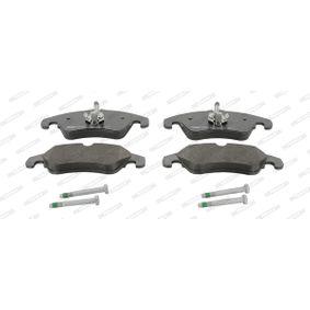 Bremsbelagsatz, Scheibenbremse FERODO Art.No - FDB4268 OEM: 1567730 für VW, FORD kaufen
