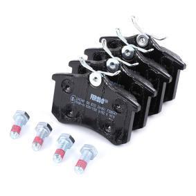 FERODO Bremsbelagsatz, Scheibenbremse 7701207484 für VW, AUDI, FORD, RENAULT, PEUGEOT bestellen