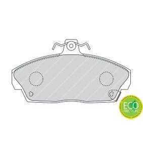 FERODO Комплект спирачно феродо, дискови спирачки GBP90313 за SKODA, ROVER, MG купете