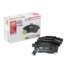 Комплект спирачно феродо, дискови спирачки FERODO Art.No - FDB621 OEM: GBP90316AF за HONDA, SKODA, ROVER, MG купете