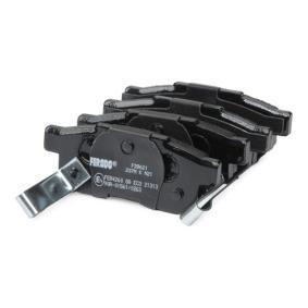 FERODO Комплект спирачно феродо, дискови спирачки GBP90316AF за HONDA, SKODA, ROVER, MG купете