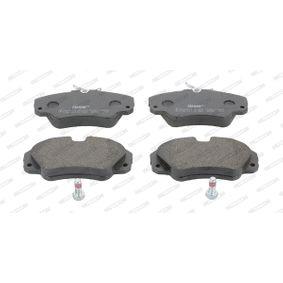 Bremsbelagsatz, Scheibenbremse FERODO Art.No - FDB686 OEM: 1605004 für OPEL, CHEVROLET, SAAB, CADILLAC, VAUXHALL kaufen