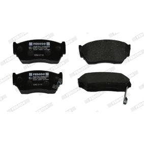 FERODO Bremsbelagsatz, Scheibenbremse 4106062C90 für PEUGEOT, NISSAN, SUZUKI, INFINITI bestellen
