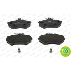 Bremsbelagsatz, Scheibenbremse FERODO Art.No - FDB774 OEM: 357698151D für VW, AUDI, SKODA, SEAT kaufen