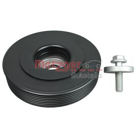 Belt Pulley, crankshaft METZGER Art.No - 6400045 OEM: 8200451073 for RENAULT, RENAULT TRUCKS buy