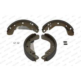 FERODO Bremsbelag und Bremsbacke FSB334 für OPEL CORSA 1.2 75 PS kaufen