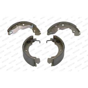 Bremsbackensatz FERODO Art.No - FSB428 OEM: 701698525B für VW, AUDI, SKODA, SEAT, PORSCHE kaufen