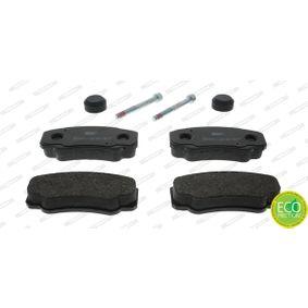 Bremsbelagsatz, Scheibenbremse FERODO Art.No - FVR1480 OEM: 425468 für FIAT, PEUGEOT, CITROЁN kaufen