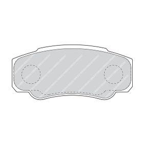 FERODO Bremsbelagsatz, Scheibenbremse 425468 für FIAT, PEUGEOT, CITROЁN bestellen