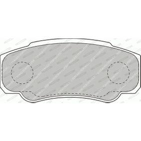 425468 für FIAT, PEUGEOT, CITROЁN, Bremsbelagsatz, Scheibenbremse FERODO (FVR1480) Online-Shop