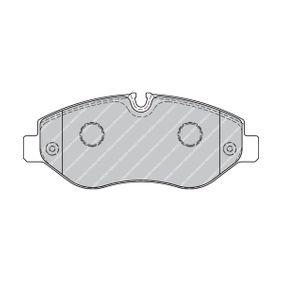 FERODO Bremsbelagsatz, Scheibenbremse FVR1778