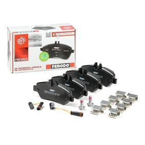 2E0698451 für VW, MERCEDES-BENZ, AUDI, SKODA, SEAT, Bremsbelagsatz, Scheibenbremse FERODO (FVR1780) Online-Shop