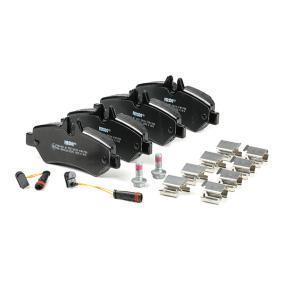 FERODO FVR1780 Bremsbelagsatz, Scheibenbremse OEM - A0044206920 MERCEDES-BENZ, VW, CHAMPION, E.T.F., OEMparts günstig