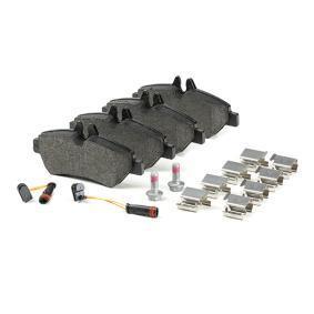 FERODO Bremsbelagsatz, Scheibenbremse (FVR1780) niedriger Preis