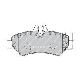 FERODO Bremsbelagsatz, Scheibenbremse FVR1780