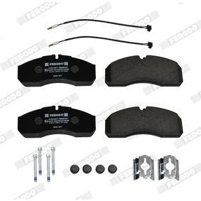 FERODO Bremsbelagsatz, Scheibenbremse 5001844748 für VW, RENAULT, NISSAN, IVECO, MAN bestellen
