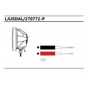 Fernscheinwerfer 270772 STRANDS