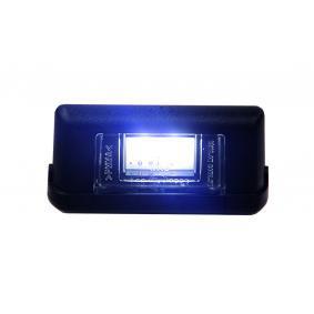 STRANDS Kennzeichenbeleuchtung 800032-S