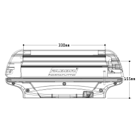 FABBRI Sí / snowboard tartó, tetőcsomagtartó 6940004