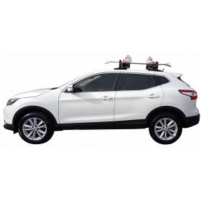 6940004 Portasci / Portasnowboard, Bagagliera da tetto per veicoli