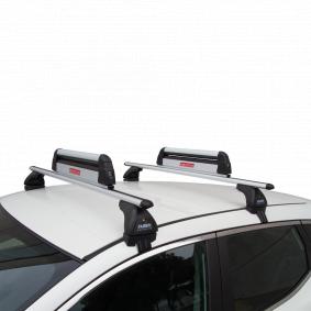Suksi- / lumilautapidike, kattoteline autoihin FABBRI-merkiltä: tilaa netistä