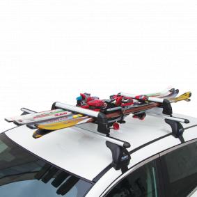 Drżák lyżí / snowboardu, střeżní nosič pro auta od FABBRI – levná cena