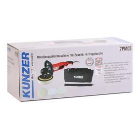 7PM05 Pulidora de KUNZER herramientas de calidad