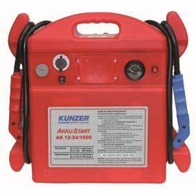 Batteri, starthjælp til biler fra KUNZER: bestil online