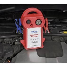 Baterie, pomocné startovací zařízení pro auta od KUNZER – levná cena