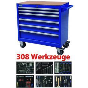 7WW12-308 Werkzeugwagen von KUNZER Qualitäts Werkzeuge