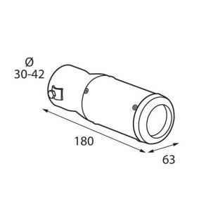 PILOT Deflector tubo de escape 60021 en oferta