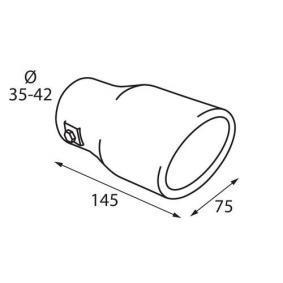 PILOT Deflector tubo de escape 60092 en oferta