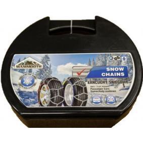 Sněhové řetězy pro auta od MAMMOOTH: objednejte si online