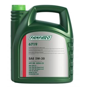 FF6719-5 Двигателно масло от FANFARO оригинално качество