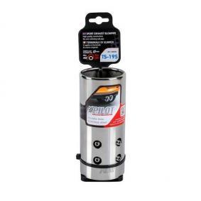 60030 Deflector tubo de escape para vehículos