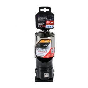 60045 Deflector tubo de escape para vehículos
