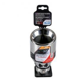 60093 Deflector tubo de escape para vehículos