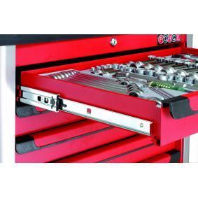 FORCE Водеща шина, чекмедже количка за инструменти 102170BBS онлайн магазин