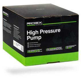 1 Schrägheck (E87) RIDEX REMAN Hochdruckpumpe 3918H0004R
