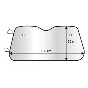 Clona na čelní sklo pro auta od AMiO – levná cena