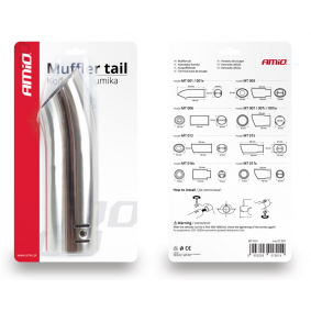 AMiO Exhaust Tip 01301/71001 on offer