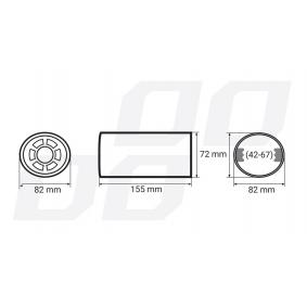 Auto AMiO Endrohrblende - Günstiger Preis
