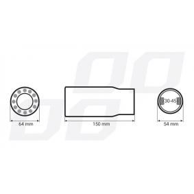 01313/71013 Przegroda rury wylotowej do pojazdów