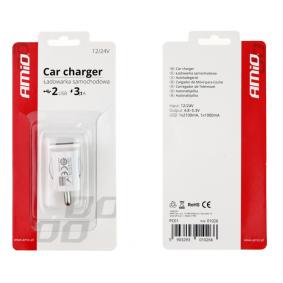 Mobilladdare till bil för bilar från AMiO – billigt pris