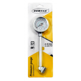 71154/01708 Compressed Air Tyre Gauge / -Filler for vehicles