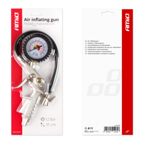 Compressed Air Tyre Gauge / -Filler for cars from AMiO - cheap price