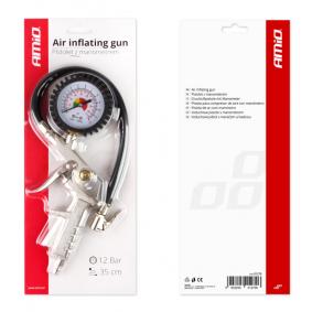 Urządzenie do pomiaru ciżnienia w kole i pompownia powietrza do samochodów marki AMiO - w niskiej cenie