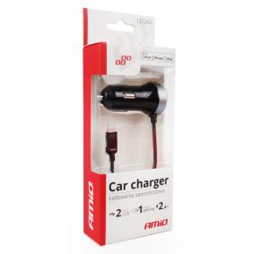 Mobiele telefoon oplader auto voor auto van AMiO: voordelig geprijsd
