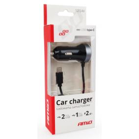 Nabíječka do auta pro mobilní telefon pro auta od AMiO – levná cena