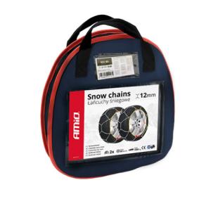Łańcuchy śniegowe do samochodów marki AMiO - w niskiej cenie